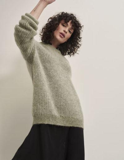 Pull�20Sweater�20Moss�20Melange_Kimmy�20Dress�20Back_Front_2