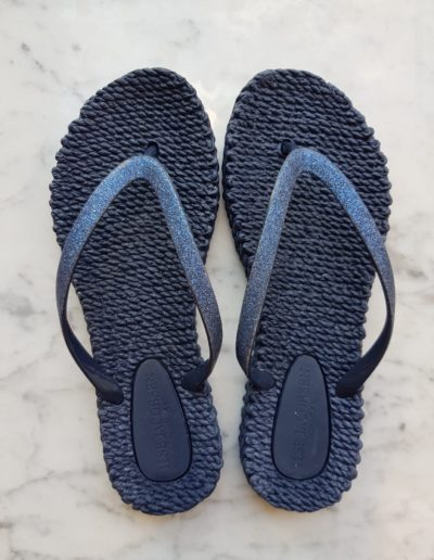 Slippers-donkerblauw
