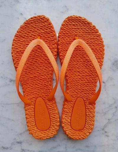 Slippers-oranje